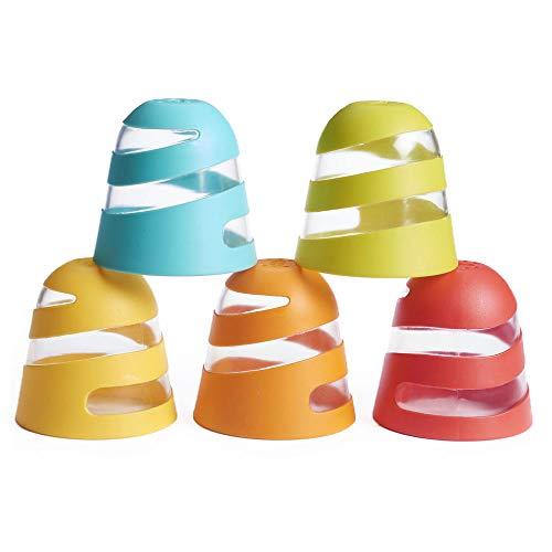Tiny Love Copos de Brinquedo para o Banho Spiral Splash Cups Multicolor