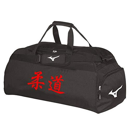 Mizuno - Bolsa Kanji japonesa holdall grande, rojo, 70 cm X 34 cm X 36