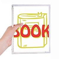 硬質プラスチックルーズリーフノートノート