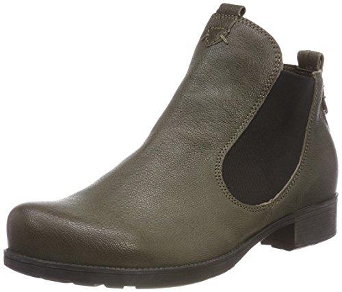 Think! Damen Denk_383011 Chelsea Boots, Grün (62 Oliv), 41 EU