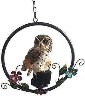 Decorazione da appendere Musical Bird-Sensore di movimento suoni-giardino//patio//uso esterno