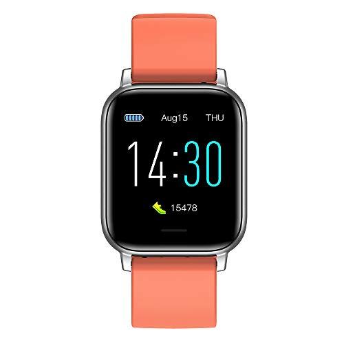 Xiaomu Reloj de frecuencia cardíaca, reloj de pulsera, Bluetooth 5.0, USB 2.0, carga magnética, podómetro, monitor de frecuencia cardíaca, pantalla de 1,3 pulgadas, 160 x 80 píxeles.