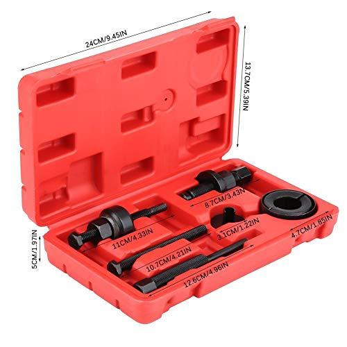 KSTE Extractor Polea, 6pcs de servo dirección de instalación de la Bomba Polea Kit de extractores Remover Juego de Herramientas for GM Ford C2 C111