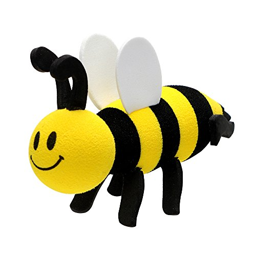 Car Antenna Topper Decors Smiling Bee Ornaments Car Decoration (Little bee)
