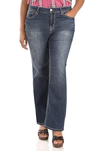 WallFlower Plus Size Basic Legendary Bootcut Jeans in Kristen Size: 18