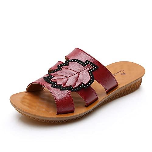 Kirin-1 Zapatillas De Casa para Mujer Verano,Zapatillas De Novia,Fondo Suave Antideslizante De...