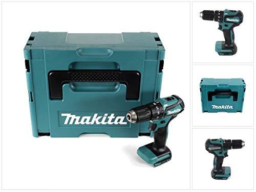 Makita DHP 483 ZJ - Taladro atornillador inalámbrico (18 V, 40 Nm)