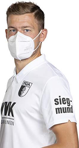 Siegmund 20 Stück Atemschutzmaske nach FFP2-Norm Mundschutz CE zertifiziert