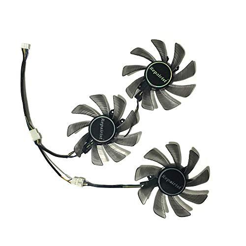 GTX1080 GTX1070 GTX1080Ti GPU VGA Cooler Cooling Fan for kuroutoshikou KFA2 GTX 1080/1080Ti/1070 Video Cards As Replacement
