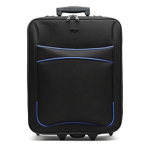 Misako - Maleta de Viaje Expand Grande 78 X 46 X 27CM - 96L - 3,2KG en Color Negro | Viajes de Larga Duración | 2 Ruedas