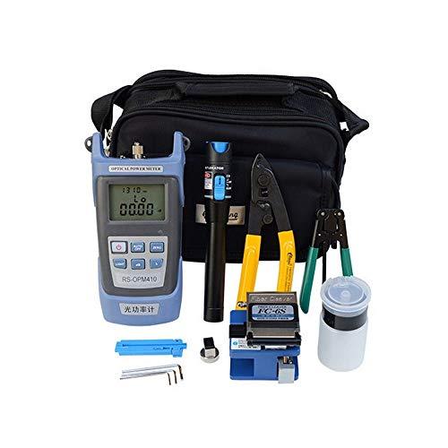 FTTH Glasfaserkit, FC-6S, Präzisions-Cleaver Optisches Faserschneider, Sumitomo Elektrisches Schneidwerkzeug, optischer Leistungsmesser, visuelle Fehlersucher, Abisolierzange