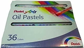 Pentel Arts Oil Pastels, 36 Color Set .