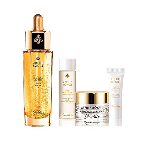 GUERLAIN ABEILLE ROYALE ACEITE DE JUVENTUD HUILE LIFTANTE 50 ML + 3 PRODUCTOS SET REGALO
