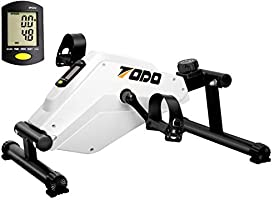 TODO Mini Exercise Bike Pedal Exerciser with LCD Monitor for Leg and Arm Recovery