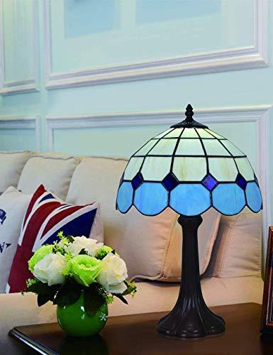 GXY Lámpara de Dormitorio Lámpara de Escritorio de 12 Pulgadas Diseño Mediterráneo...