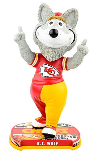 Forever Collectibles Kansas City Chiefs Mascot Kansas City Chiefs Headline Bobblehead NFL