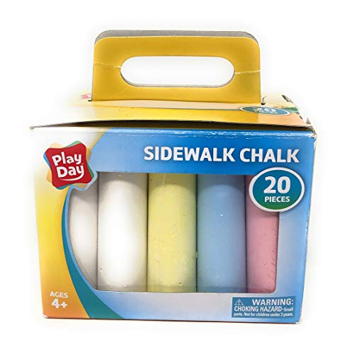(36% OFF) Play Day Sidewalk Chalk 20 Pieces $6.98 Deal