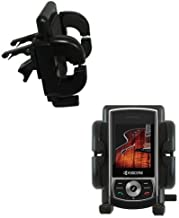 Innovative Vent Cradle Vehicle Mount designed for the Kyocera E4600 - Adjustable Vent Clip Holder for Most Car / Auto Vent...