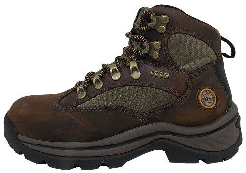 Timberland Damen Chocorua Trail Goretex Chukka Boots, Braun (Dark Brown/Green), 42 EU