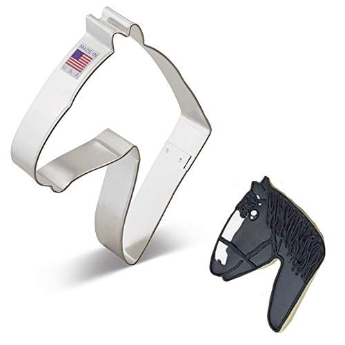 Ann Clark Cookie Cutters Horse Head Cookie Cutter, 5