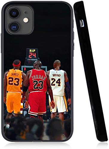 Legendäres Basketball-Thema entworfen für iPhone 11 Hülle, modische schlanke Schutzhülle, Anti-Kratzer Premium TPU Slim Fit Soft Cover, kompatibel mit 6,1 Zoll (15,5 cm) Hülle (Lebron-Jordan-Kobe)