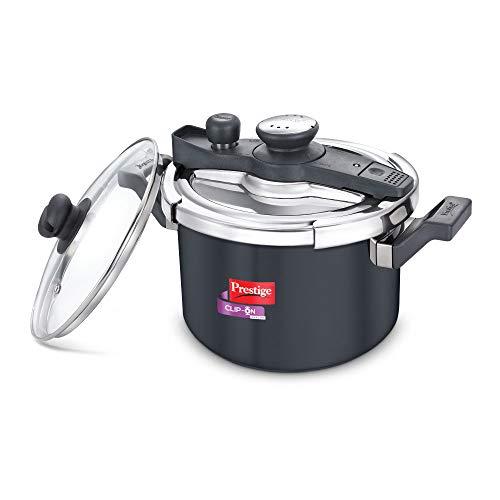 Prestige Svachh Clip-on 5 Litre Hard Anodised Pressure cooker