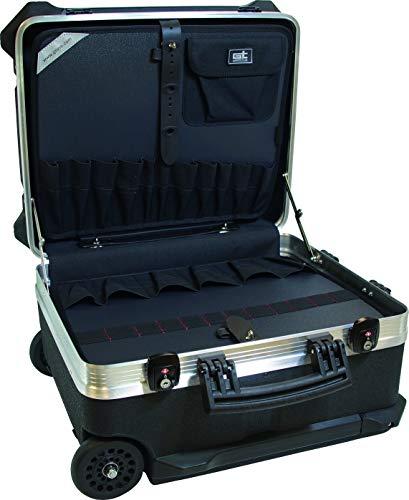 GTline 488153 GT-Line Turtle Wheels 300 PTS TSA (maletín sin Herramientas, Incluye 2 cerraduras, Bolsillos, Compartimento para Documentos, Dimensiones Interiores 470 x 300 x 390 mm)