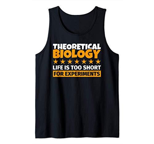 Regalos de biología teórica - Humor divertido del biólogo te Camiseta sin Mangas