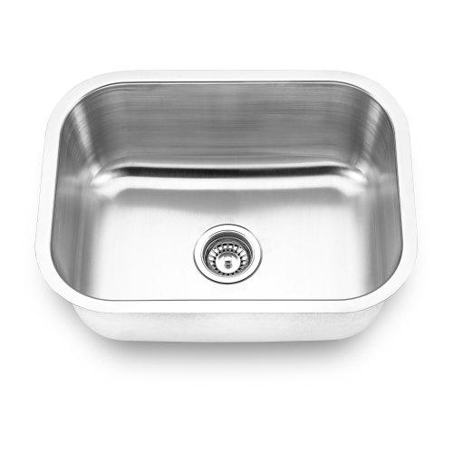 Yosemite Home Decor MAG2318 18-Gauge Stainless Steel Undermount Kitchen Sink