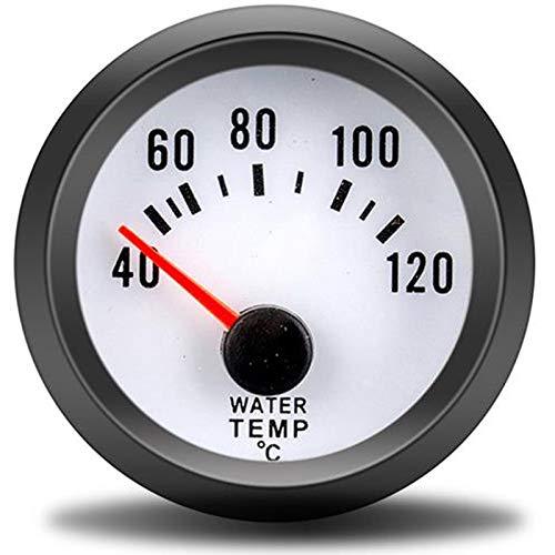 KONGZIR PSI 52 mm de Calibre de Aire-Combustible Prensa de Aceite Velocidad voltímetro Turbo del Sensor del calibrador de Contador de Agua de turbina + (Color : Water Temp Gauge)