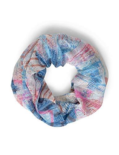 Cecil Damen 571207 Mode-Schal, deep blue, One Size