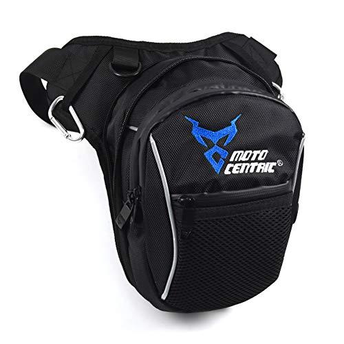 Mioloe Gota Impermeable Bolsa de Pierna Cinturón Táctico Bolsa multifunción Bolsa de Deportes Moto Cintura Bolsa Paquete Bolsa