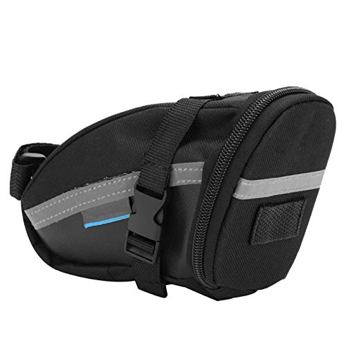 minifinker Saddle Tail Pouch Bike Saddle Bag Durable Bicycle Repair Tools Pocket Pack,for Outdoor Riding,for Cycling