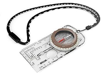 Silva 5-6400/360 Boussole. Mixte, Transparent, Standard