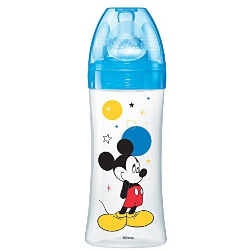 Dodie biberón Inicio Mickey azul 330ml 6+ Meses