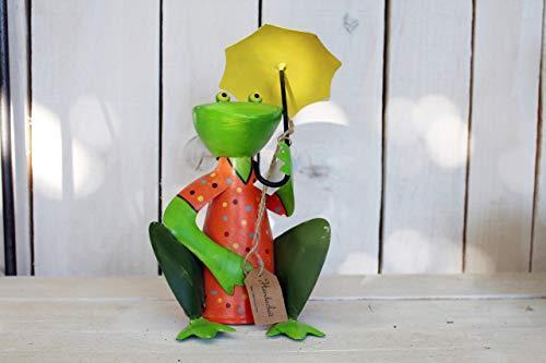Unbekannt Frosch Zaunhocker Bunt Schirm