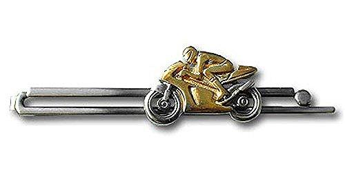 Unbekannt Krawattenklammer race motorbike II /2c mtd