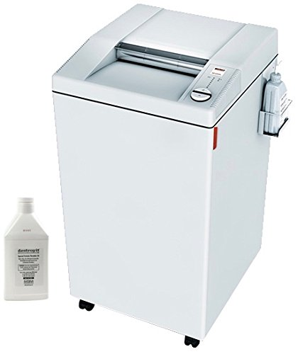 Sale!! MBM DESTROYIT 3105 CROSS CUT SHREDDER WITH AUTOMATIC OIL INJECTION SYSTEM AND SHREDDER OIL (S...