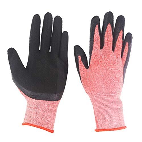 PETSOLA Professionelle Gartenhandschuhe Dornschutz Schutzhandschuhe Rosenhandschuh Strauchhandschuh