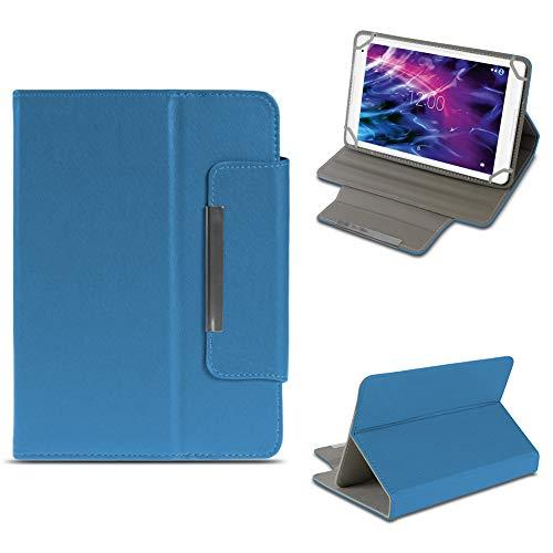 NAUC Tablet Tasche für Medion Lifetab E10604 E10412 E10511 E10513 E10501 Hülle Schutzhülle Case Schutz Cover, Farben:Blau