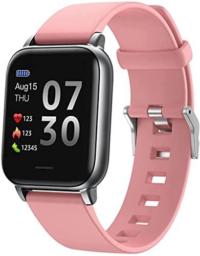 hwbq Reloj inteligente deportivo de 1,3 pulgadas pantalla Fitness Tracker sueño Monitoreo impermeable Smartwatch para Android-E