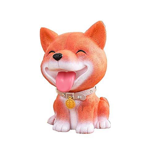 Z3Z Sparschwein Kinderspielzeug Hauptdekoration Hunde Modellieren Silikon Kreatives Design,D