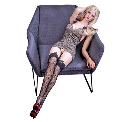 DSXX 1/6 Actionfiguren Weiblich mit Bewegliche Augen, 12 Zoll Weibliche Figur Körper Puppe Set mit Kleidung und Sofa