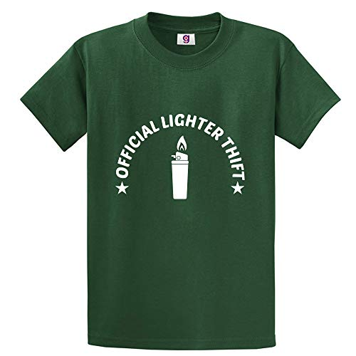 Grappige officiële aansteker dief roker roken nieuwigheid Savage Stag Cool T Shirt