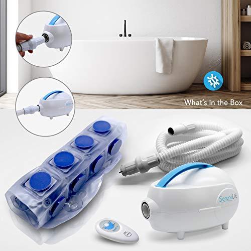 serenelife phspamt22 tapis de bain