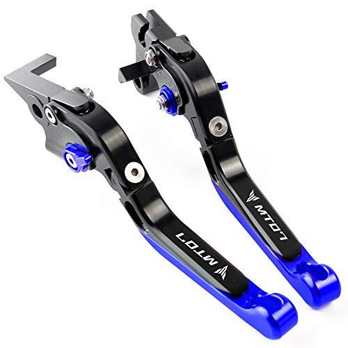 Conjunto de palanca de embrague y freno CNC aluminio para Yamaha MT07 FZ07 2014-2019