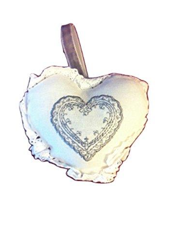 Lot de 3 Coeur et maison Intense Large parfumées parfum sachet avec cintre