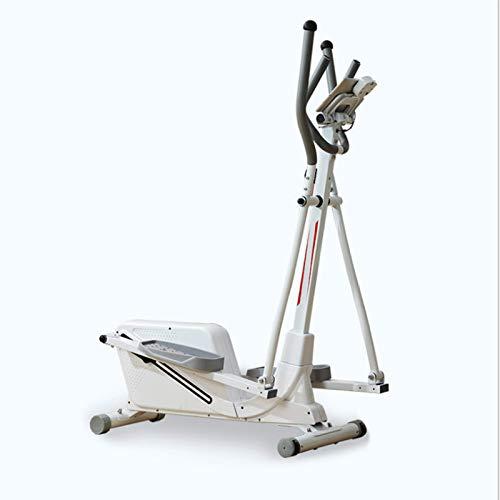 CHUN LING Entrenador Paso a Paso elíptico, conducción Suave y silenciosa, Monitor programable para Entrenamiento Cardiovascular en casa