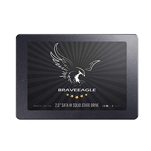 BRAVEEAGLE 2.5 '' SSD 240GB Unidad Interna Estado Sólido SATA 3 Alto Rendimiento para PC/portátil (Unidad SSD 240GB)