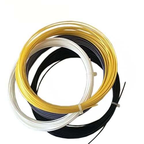 10 stks/partij Polyester Alu 1.25mm Tennis String Tennisracket String 12m Gym Training Control Training Tennis String by…